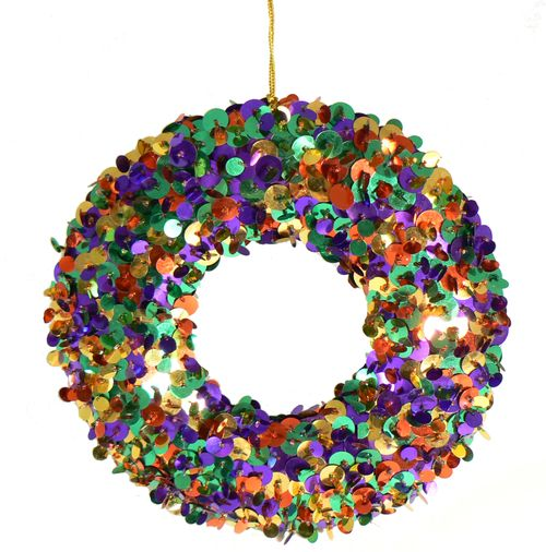 MULTI SEQUIN WREATH