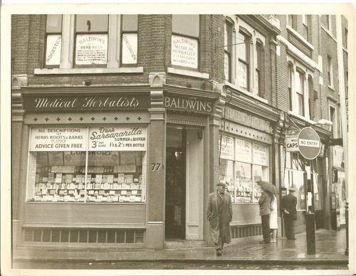 Old Shop 77 Walworth Road 1964