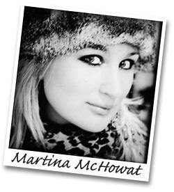 Martina polaroid