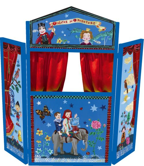puppet theater plans
