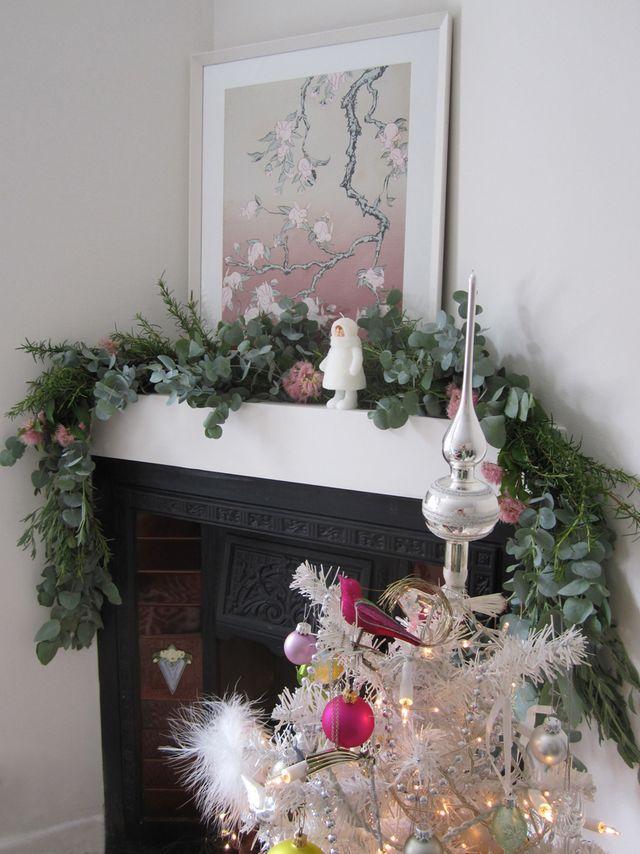 Wee Birdy How To Make The Prettiest Eucalyptus Christmas Garland